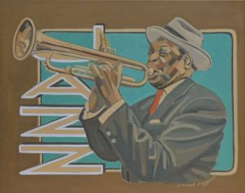 TRUMPET JAZZ PLAYER - Jpaul Pagnon