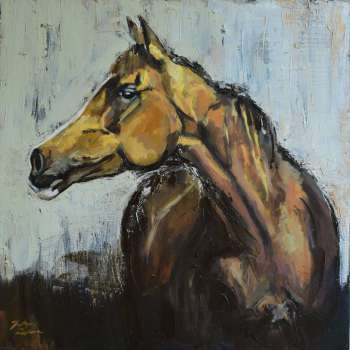 Portrait of a horse 4 - Justyna Zielonka