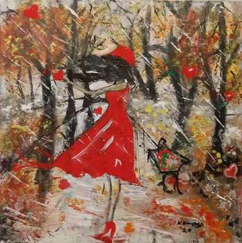 The Girl in the Rain - Katarzyna Kwapisz