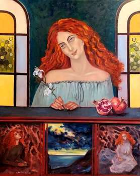 Persephone and her two worlds - Krystyna Ruminkiewicz