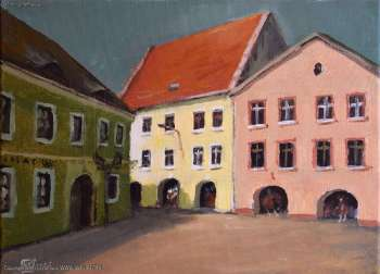 Tenement houses on the Tarnogórski Market Square - Krzysztof Iwin