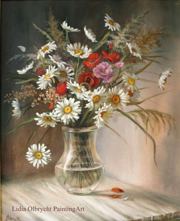 Un bouquet de fleurs sauvages lidia olbrycht touchofart - Bouquet de fleurs sauvages ...