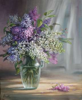 Lilacs flowers - Lidia Olbrycht