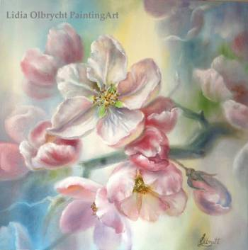 Blooming Apple Tree - Lidia Olbrycht