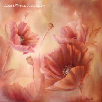 Coquelicots - Impression - Lidia Olbrycht