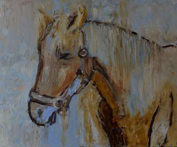 Animaux - Cheval 50 x 60 - Magdalena Walulik