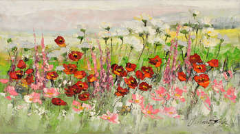Poppy meadow - Małgorzata Kruk