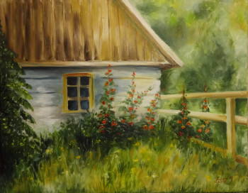 Cottage with pictures II - Maria Sularz