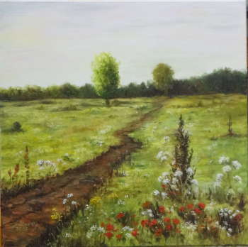 cycle: Polish landscapes - Somewhere on the plain - Maria Sularz