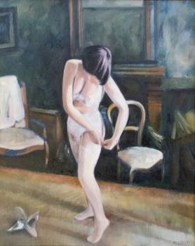ragazza all'interno - Michał Cander