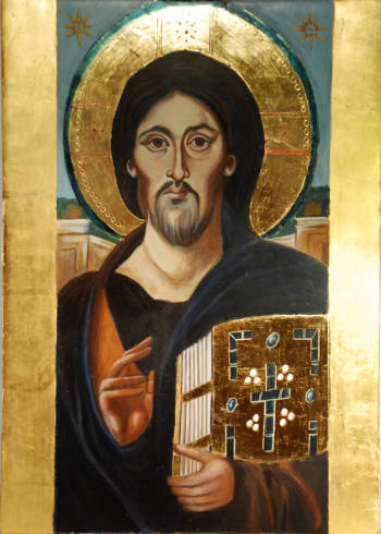Christ Pantocrator - Michalina Drewniak Mosurek