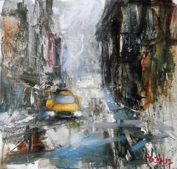 New York taxi - Milos Pucek