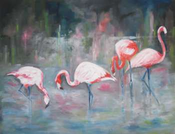 Flamingos - Monika  Ratajczak
