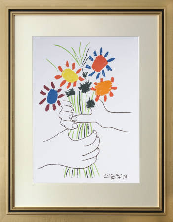 Bouquet of flowers - Pablo Picasso