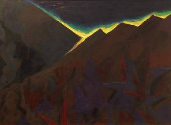 Flare in the mountains - Paweł Cabanowski