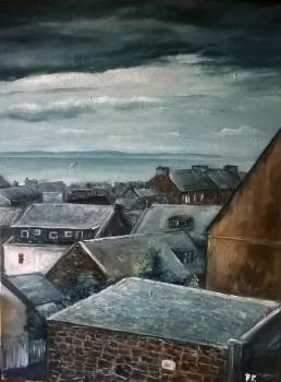 Over the roofs of Arbroath - Paweł Kosior