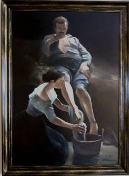 The washing of feet - Paweł Wołos
