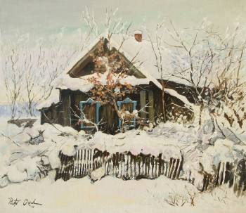 Winter in the countryside - Piotr Olech