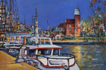Fishing port in Ustka - Piotr Rembieliński