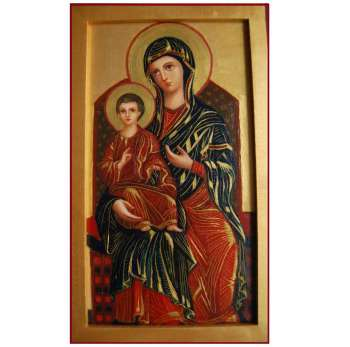 Icon of the Mother of God with the baby Jesus - Pracownia Artefakty