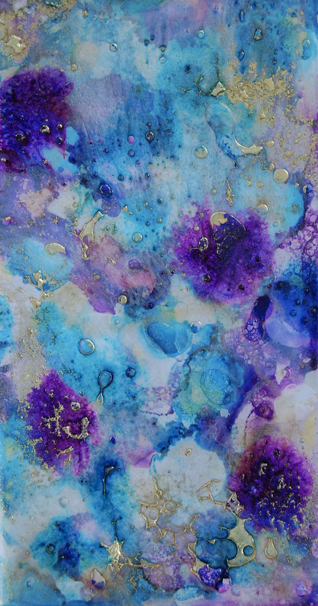 Purple Pansies Rachel McCullock