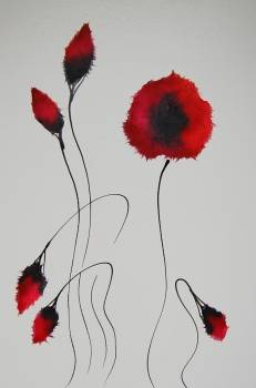 Remembrance poppies - Rachel McCullock