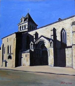St Jean-Baptiste Mézin France - Ray Johnstone