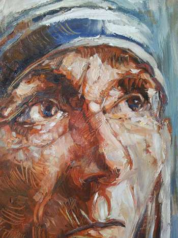 19.	Mother Teresa - Roman Bonchuk