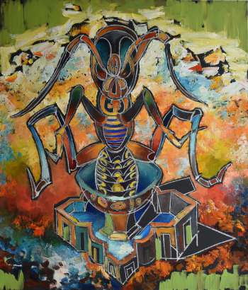 "(!) New collection ""Dance of Paradigm"". Picture ""Insect Lord"" - Roman Bonchuk"
