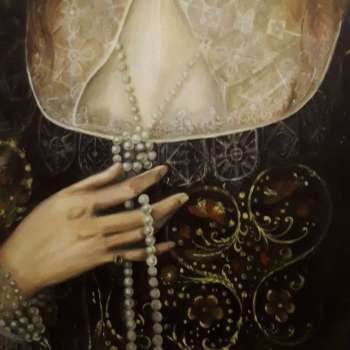Lady Anne Pope (detail) Robert Peake the Elder - Sylwia Krupińska (Wójcik)