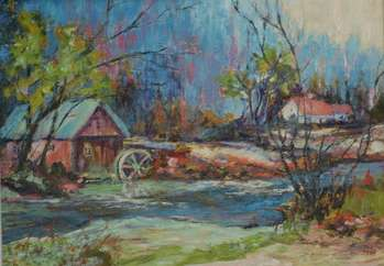 Old Mill - Teresa Mrugacz