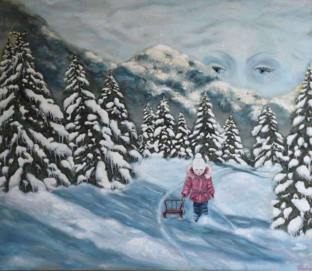 Winter. Homecoming Tetyana Shcherba
