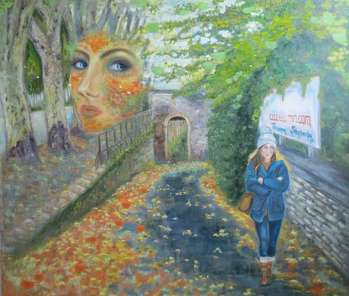 Autumn Woman - Tetyana Shcherba