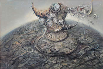 Interplanetary dream factory - Tomasz Sętowski