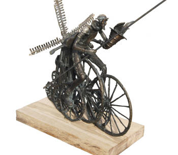 Sculpture - Don Quichotte - Tomasz Sętowski
