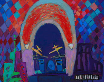Concert under the red arch - Tomasz Wojtysek