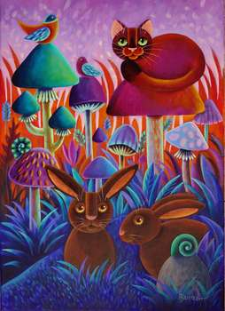 A dream of chocolate bunnies - Wiesława Burnat