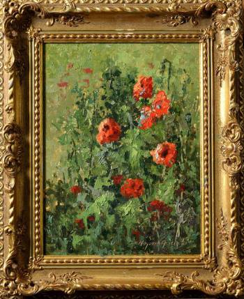 Study of poppies - Wojciech Górecki
