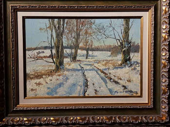 Winter road I - Wojciech Górecki