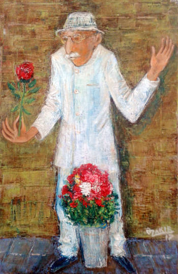 Flower selleranvas - ZAKIR AHMEDOV