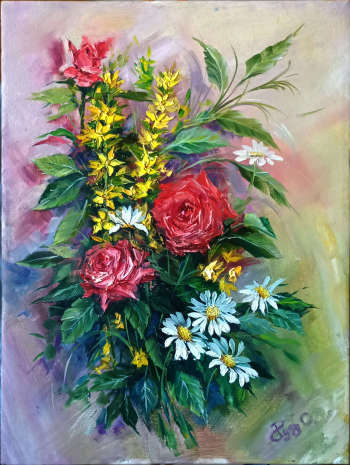 wild rose and forest bouquet - Алеша Рудь