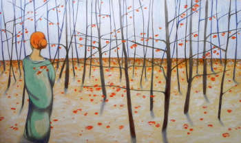 Winter woods - federico cortese